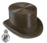 <ul> <li> Traditional coaching top hat</li>   <li> 100% fur felt</li> <li> Fully lined</li> <li> 5 inch crown</li> <li> Includes Christys' hat box</li> </ul>