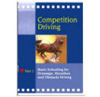 <i>with Ewald Meier</i><br> Dressage training for the driving horse is the focus of Part 2 of this series. The schooling of individual dressage movements is highlighted as well as the execution of an entire test. The basics of dressage are then shown to improve driving in both hazards and cones. In English. 52 mins.  DVD format.