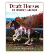 <i>by Beth Valentine and Michael Wildenstein</i><br> The increasing popularity of many different draft breeds has given rise to the need for more information on how to properly care for them.  This practical manual covers the basic care, feeding, and health management of heavy horses.  It is geared toward all draft breeds, including heavy pony breeds such as the Haflinger and Norwegian Fjord.  A great resource for treating and preventing problems that are specific to draft horses.  PB  229 pp.