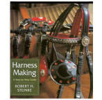 <i>by Robert Steinke</i><br> Describes the tools, materials, and basics of preparing and stitching harness and driving related accoutrements. Various styles and designs of harness are discussed as well as the complete process of hand making a harness. The listing of patterns, sizes, and suppliers is a valuable resource. HB 266pp.