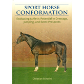 <i>by Christian Schacht</i><br> Learn how to evaluate the athletic potential of the modern sport horse.  Useful tools are outlined to show the strengths and weaknesses of each horse's individual conformation.  A valuable guide to assessing the potential career and future soundness of a horse.  HB 136 pp.