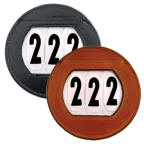 FEI Leather Horse Number Holder with Numbers