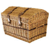 Large Domed Top Wicker Basket