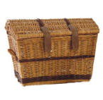 Small Domed Top Wicker Basket