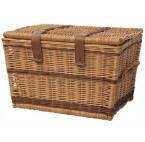 Small Flat Top Wicker Basket
