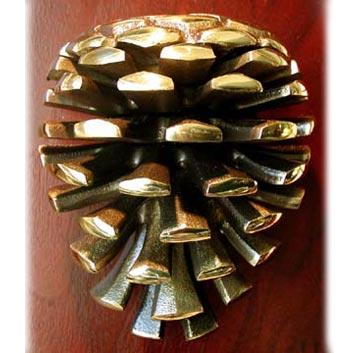 Pine cone door knocker - Pine cone door knocker ...