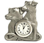 Jack Russell Clock