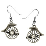 Cart Wheel Earrings