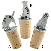Dog Bottle Stoppers