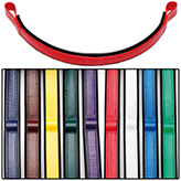 Zilco Synthetic Browbands with Color Trim